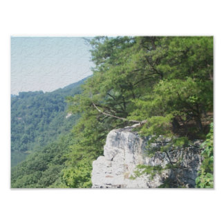 Rocky Edge Photographic Print