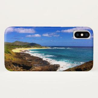 Rocky Hawaiian Tropical Island iPhone X Case