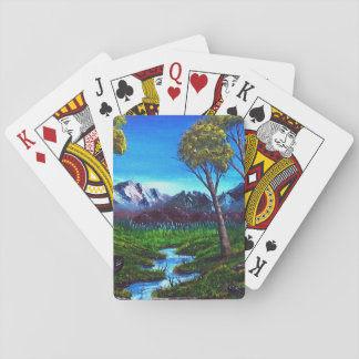 Rocky Mountain Abstract Poker Deck