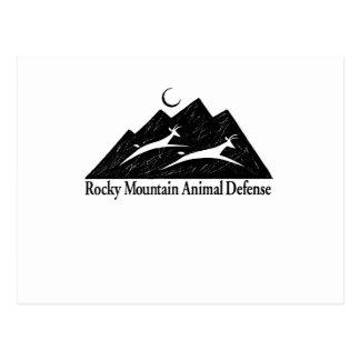 Rocky Mountain Animal Defense 15 oz mug Postcard
