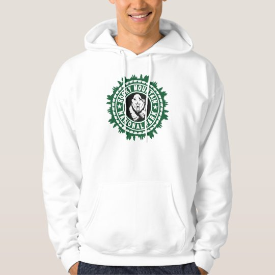 Rocky Mountain Bear In The Woods Hoodie