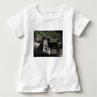 Rocky Mountain Bighorn Sheep Baby Romper