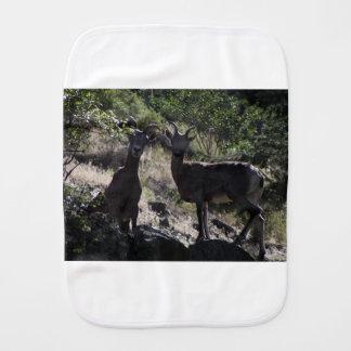Rocky Mountain Bighorn Sheep Burp Cloth