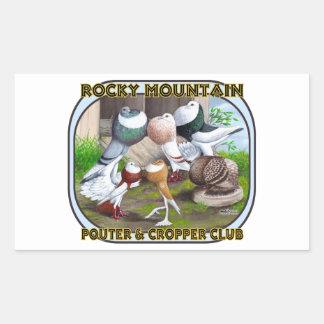 Rocky Mountain Club Logo Sticker
