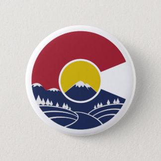 Rocky Mountain Colorado C 2 Inch Round Button