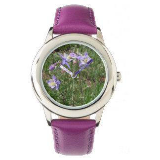 Rocky Mountain Columbine Kids' Watch