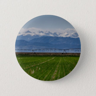 Rocky Mountain Farming View 2 Inch Round Button