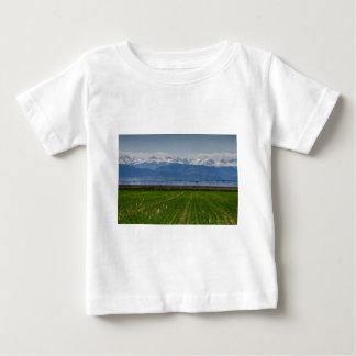 Rocky Mountain Farming View Baby T-Shirt