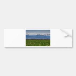 Rocky Mountain Farming View Bumper Sticker