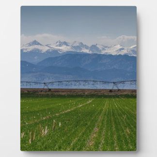 Rocky Mountain Farming View Plaque