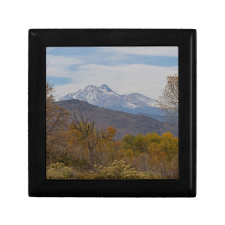 Rocky Mountain Foothills View Gift Box