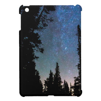 Rocky Mountain Forest Night Cover For The iPad Mini