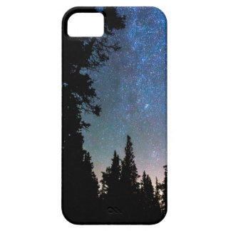 Rocky Mountain Forest Night iPhone 5 Case