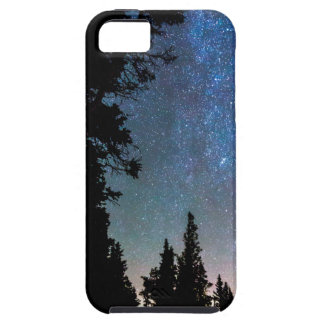 Rocky Mountain Forest Night iPhone 5 Covers