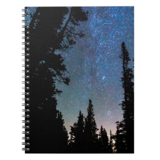 Rocky Mountain Forest Night Notebooks