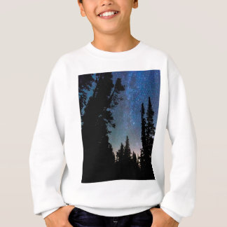 Rocky Mountain Forest Night Sweatshirt