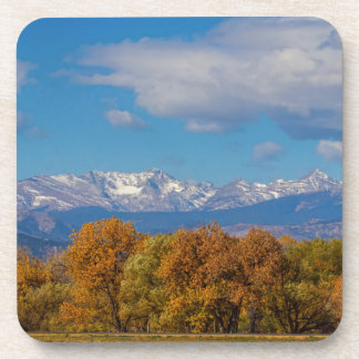 Rocky Mountain Front Range Colorful View Coaster