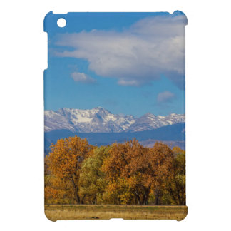 Rocky Mountain Front Range Colorful View iPad Mini Case