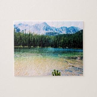 Rocky Mountain Lake Jigsaw Puzzle