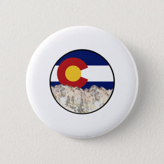 Rocky Mountain Love 2 Inch Round Button