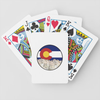 Rocky Mountain Love Bicycle Playing Cards