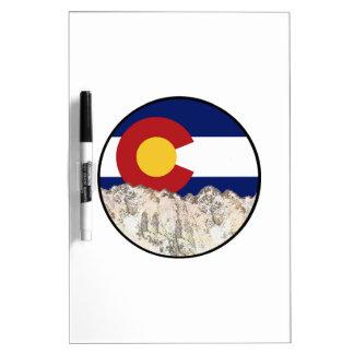 Rocky Mountain Love Dry Erase Board