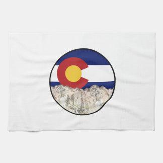 Rocky Mountain Love Kitchen Towel