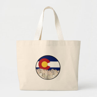 Rocky Mountain Love Large Tote Bag