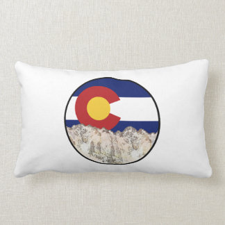 Rocky Mountain Love Lumbar Pillow