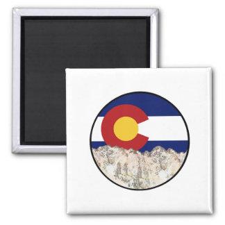 Rocky Mountain Love Magnet