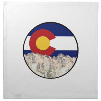 Rocky Mountain Love Napkin