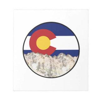Rocky Mountain Love Notepad