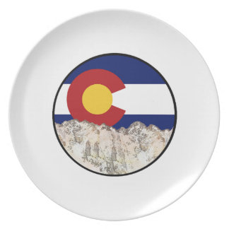 Rocky Mountain Love Plate