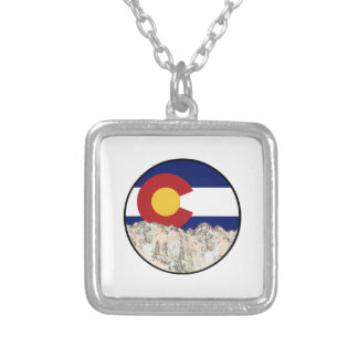 Rocky Mountain Love Silver Plated Necklace