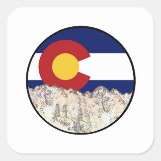 Rocky Mountain Love Square Sticker