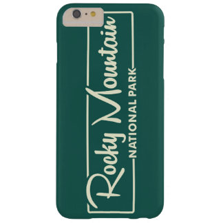 Rocky Mountain National Park Barely There iPhone 6 Plus Case