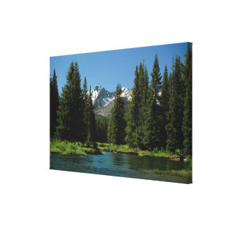 Rocky Mountain National Park , Colorado 2 Canvas Print