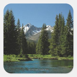 Rocky Mountain National Park , Colorado 2 Square Sticker