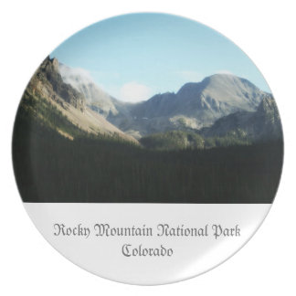 Rocky Mountain National Park Party Plates