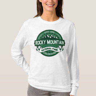 Rocky Mountain NP Forest Green T-Shirt