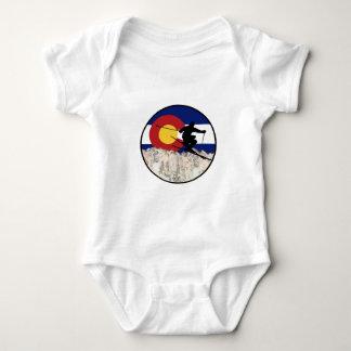 Rocky Mountain Pass Baby Bodysuit