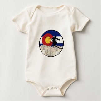 Rocky Mountain Pass Baby Bodysuit