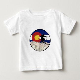 Rocky Mountain Pass Baby T-Shirt