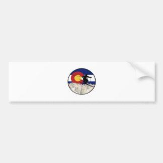 Rocky Mountain Pass Bumper Sticker