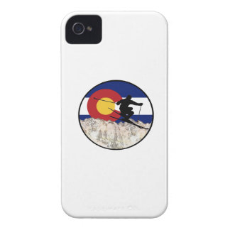 Rocky Mountain Pass iPhone 4 Case