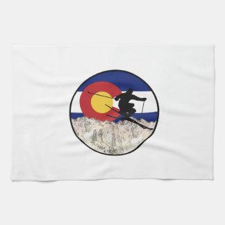 Rocky Mountain Pass Kitchen Towel