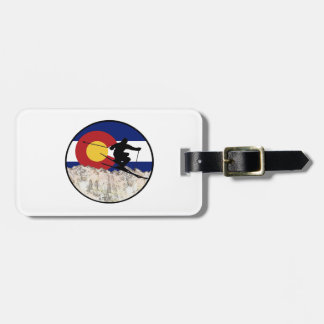 Rocky Mountain Pass Luggage Tag