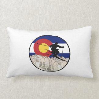 Rocky Mountain Pass Lumbar Pillow