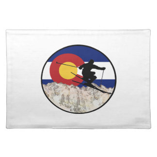 Rocky Mountain Pass Placemat