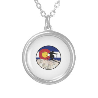 Rocky Mountain Pass Silver Plated Necklace